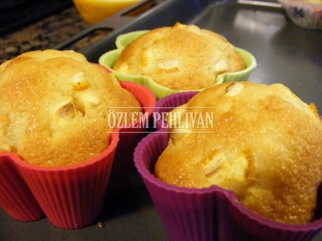 Portakallı Muffin